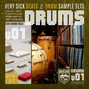 verysickdrums sample pack