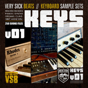 verysickkeys1 sample pack