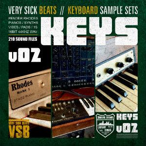 verysickkeys2 sample pack